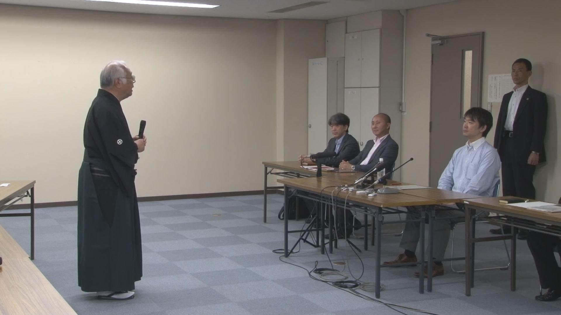 10/3 橋下市長と文楽側との公開面談【詳報】 その後の市長会見