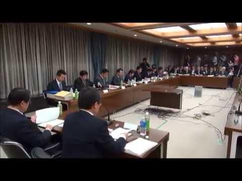 (大阪都構想)法定協議会、野党の反対で紛糾 「工程表案」発表は中止に