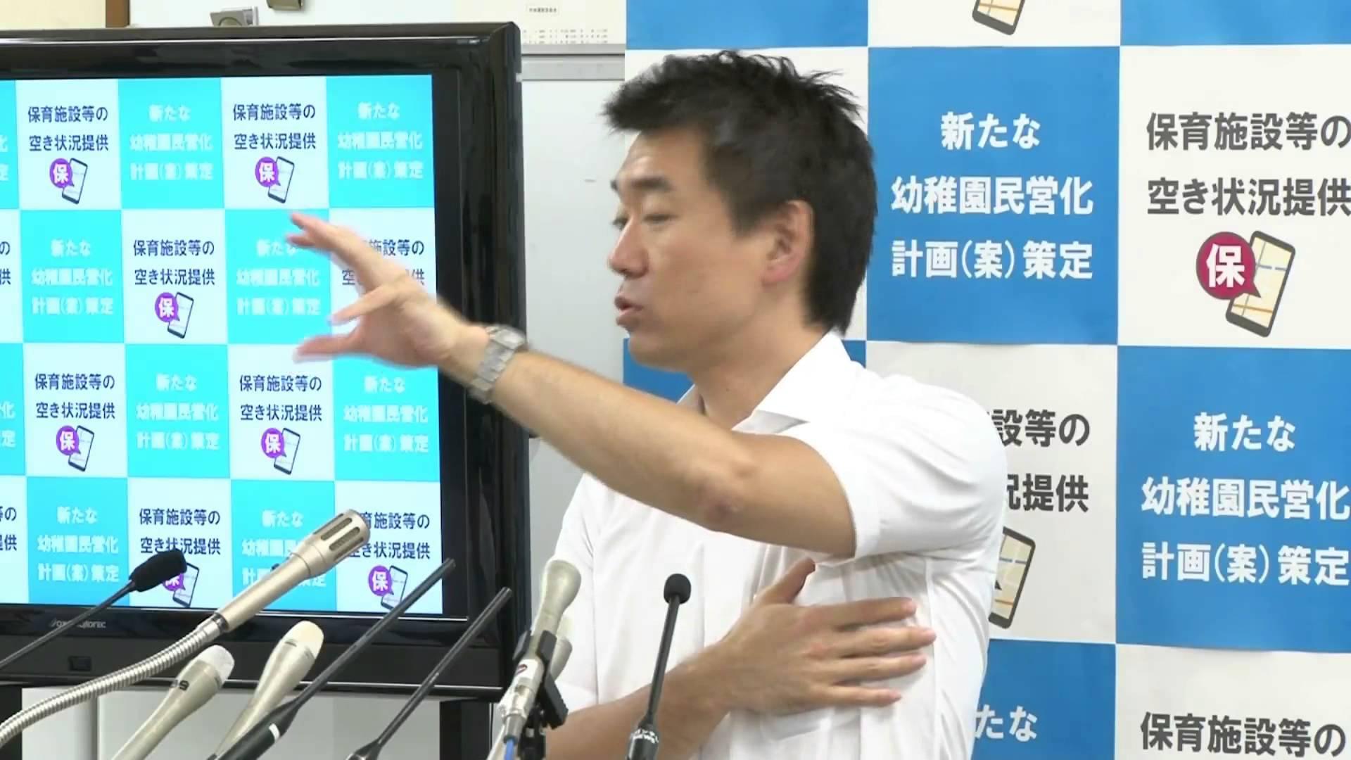 【必見です】橋下大阪市長「定例記者会見」(フルバージョン)2015.7.9