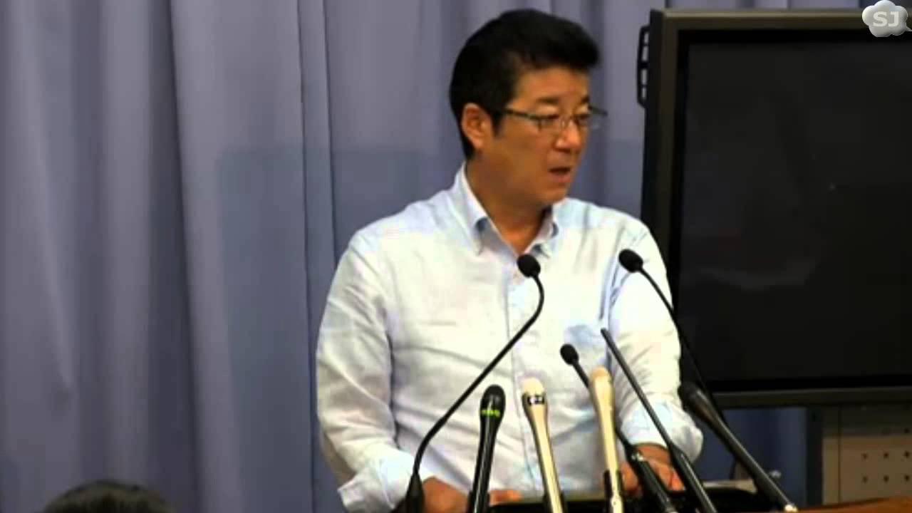 松井知事「結いとの合併時、『国と地方が同列という価値観』を共有したのに・・・」 定例会見 2015.7.15