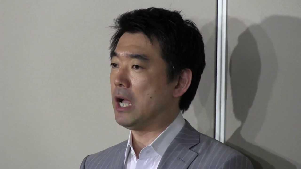 【再開!】5/20 橋下大阪市長 退庁時 囲み取材 動画