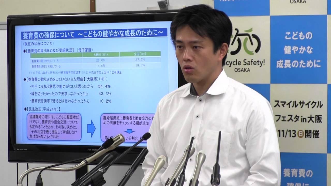 吉村市長「発言はあってはならない。しかし現地の状況がどういうものかを報道するのが報道機関の役割と責任だ」定例会見 2016.10.20