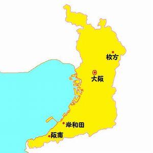 [総合区]公明党:区割り案(6/8/10区)を水面下で作成(大阪市)