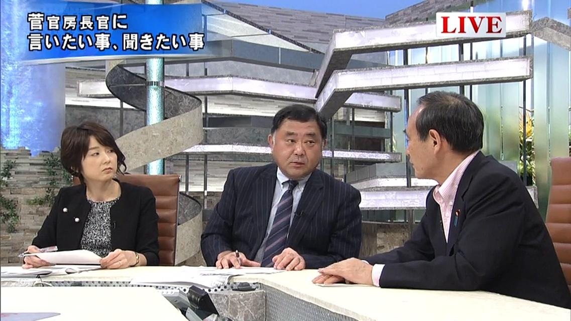 菅官房長官「(大阪W選・自民共産野合)私ども党本部は大反対でした!」そして橋下徹・・・2016.6.14