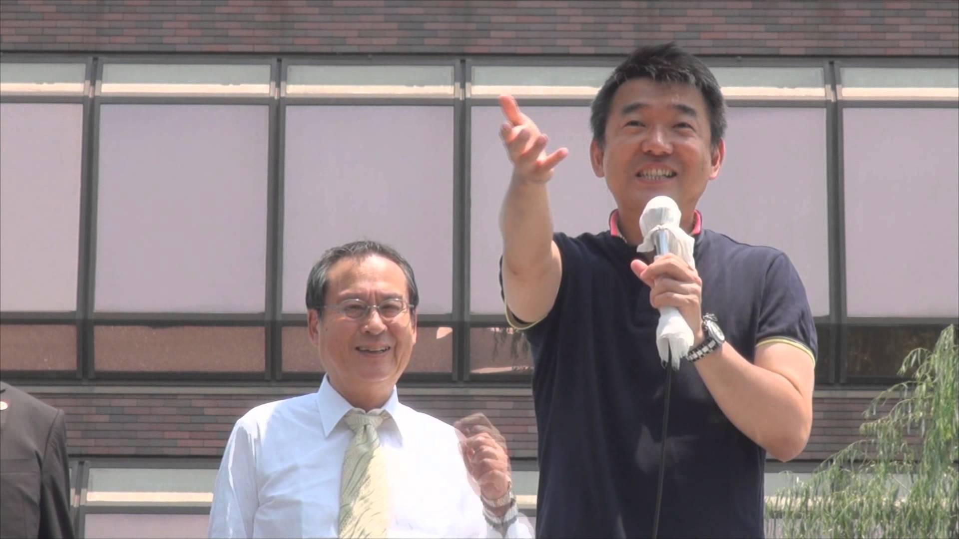橋下氏「現役世代に、もう少し税金を回して欲しい」 敢えて、おばあちゃんの原宿「東京・巣鴨」で訴えた演説