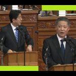 [日本維新]馬場幹事長「衆議院 代表質問(答弁・安倍首相)」その後の定例会見 2017.1.24